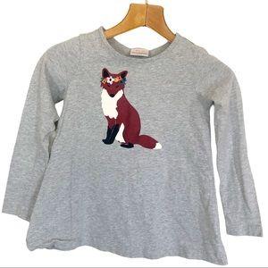 Hanna Andersson Gray Fox Long Sleeve Top 8